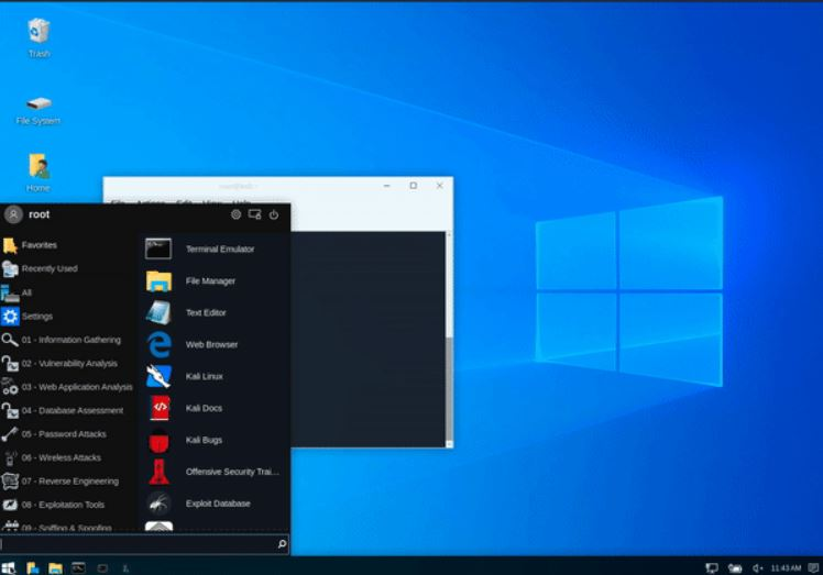 Linux Windows Desktop Feature