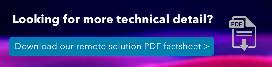 Footer Download PDF Remote Testing Solution